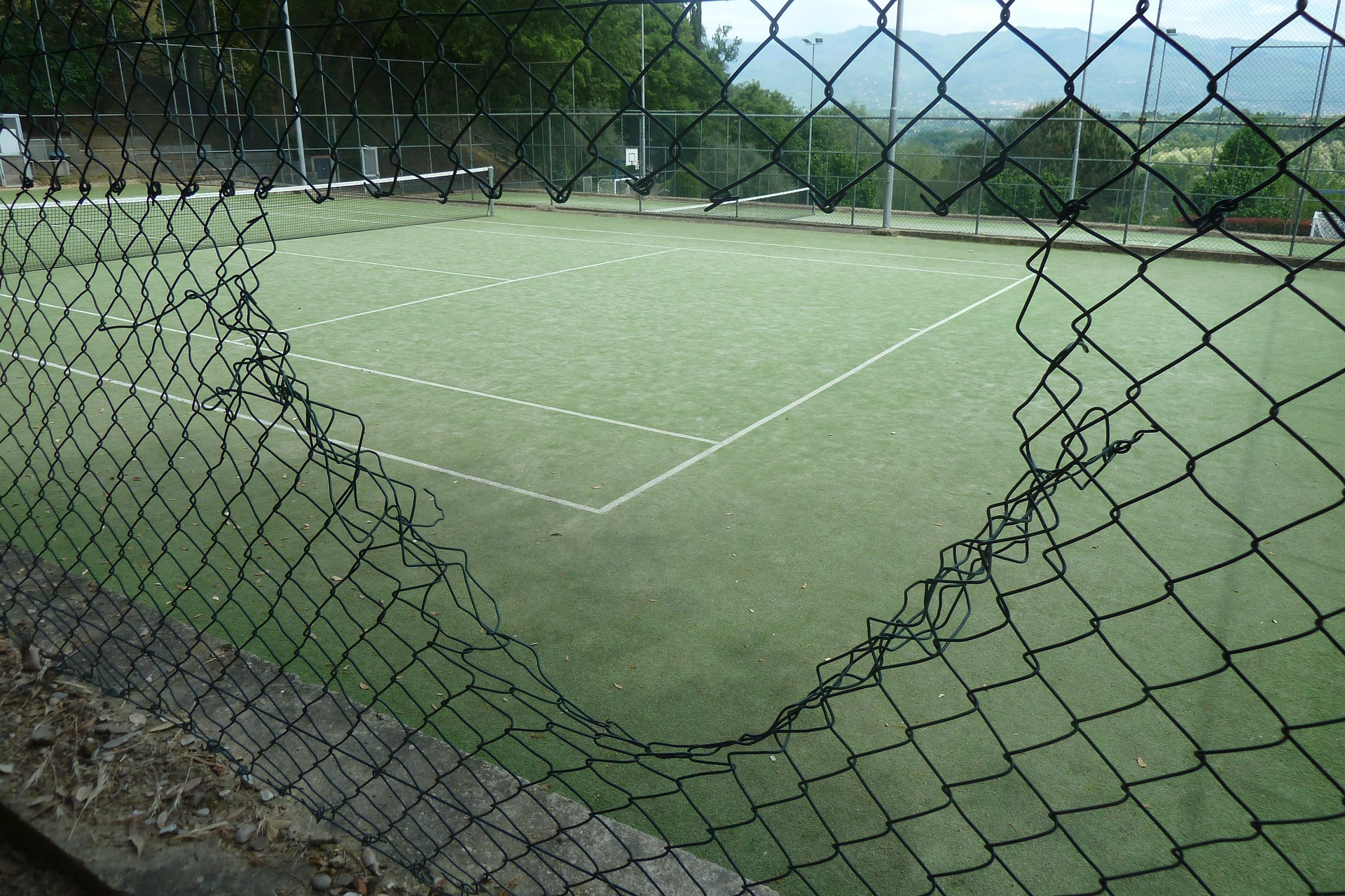 Podstawowe nawierzchnie tenisowe