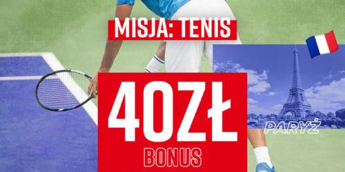 "Promocja Betclic – ""Misja: Tenis"""