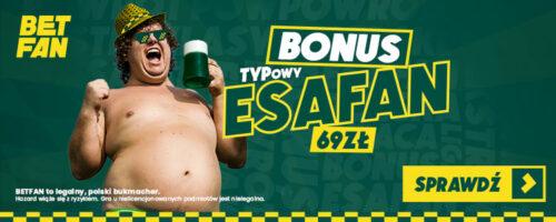 Promocja na powrót Ekstraklasy #betfan