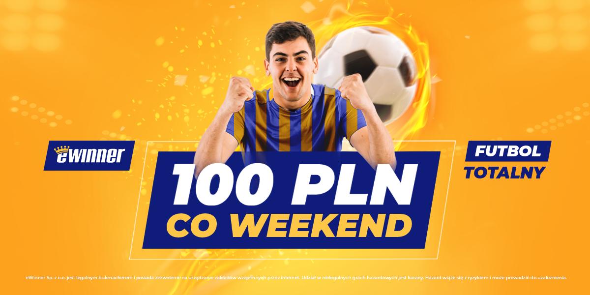 Futbol Totalny czyli nawet 110 zł co weekend od eWinner