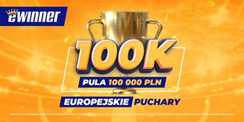 100 000 PLN do podziału na europejskie puchary #eWinner