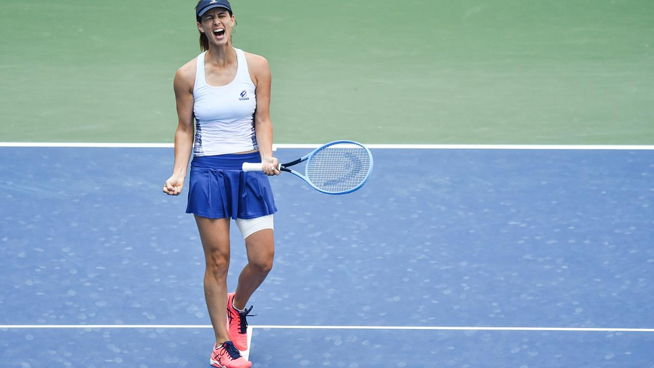 Tsvetana Pironkova w ćwierćfinale US Open.