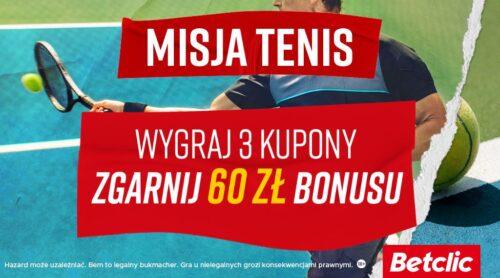 Misja Tenis – promocja Betclica na drugi tydzień US Open