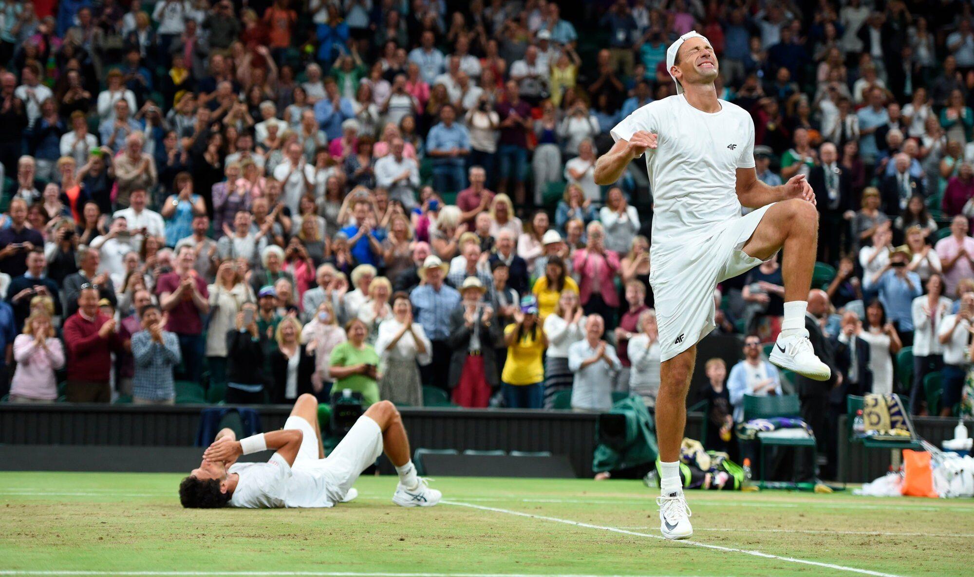 Łukasz Kubot i Marcelo Melo po triumfie w Wimbledonie