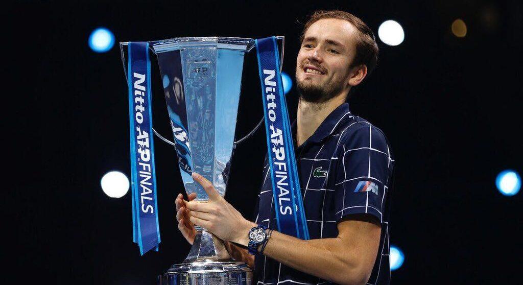 Medvedev mistrzem Nitto ATP Finals. Historyczny moment Rosjanina